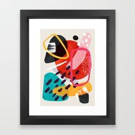 Mikah Framed Art Print
