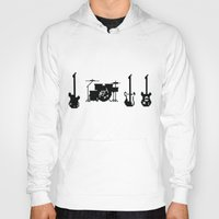 the mortal instruments Hoodies featuring Instruments by Alexa Reyes
