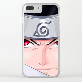 Uchiha Face Clear iPhone Case