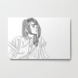 Gaze Metal Print