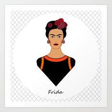 Frida ii Art Print