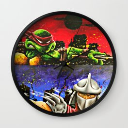 TMNT set  Wall Clock