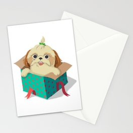 Little Dog Stationery Cards