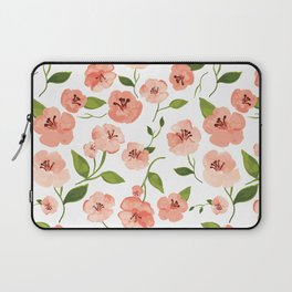 Peach flowers Laptop Sleeve
