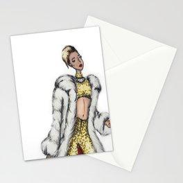 Miley Illustration Stationery Cards