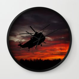 Sunrise Search And Rescue Wall Clock