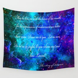 LOVE:  THE SONG OF SOLOMON Wall Tapestry