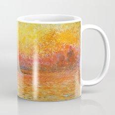 Claude Monet Sunset In Venice Mug