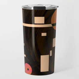 rhythm. retro. one. Travel Mug
