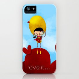 Love is... iPhone Case