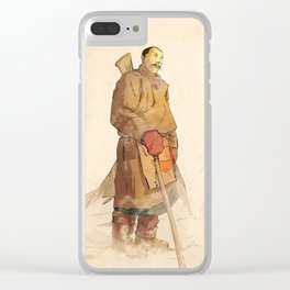 - sherpa - Clear iPhone Case
