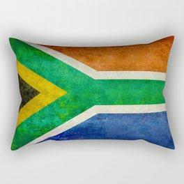 Flag of the Republic of South Africa Rectangular Pillow