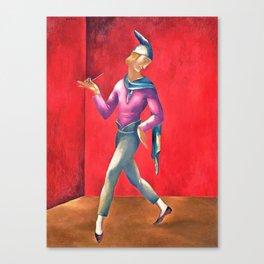 Eugeniusz Zak - Pierrot-Dancer, Clown - Digital Remastered Edition Canvas Print