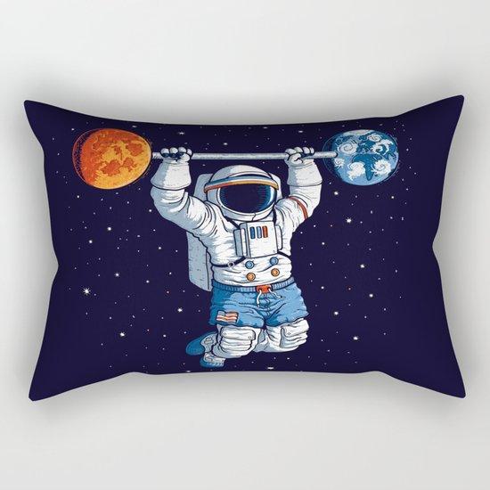 Space Gym  Rectangular Pillow