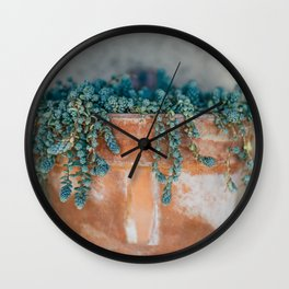 Succulent Love Wall Clock
