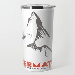 Zermatt, Valais, Switzerland Travel Mug