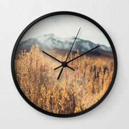 Eastern Sierras No 473 Wall Clock