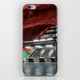 Solna Centrum Metro Station in Stockholm, Sweden iPhone Skin