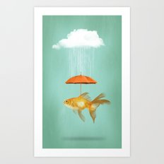 Fish Cover II Art Print