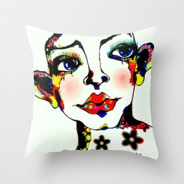 Androgynus 01 Throw Pillow