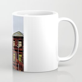 She Flies Across Belfast Coffee Mug