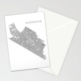 Bushwick, NY Stationery Cards