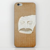 bon iver iPhone & iPod Skins featuring Bon Iver by Strong Odors