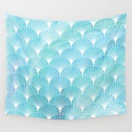Mermaid Fans: Ocean Mist Wall Tapestry