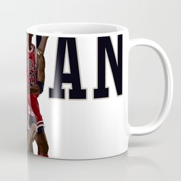 Jordan Reverse layup Hand Painted Coffee Mug