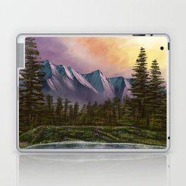 Spring Paint Along with Bob Ross on Netflix ep.1 Laptop & iPad Skin