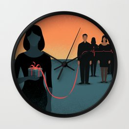 The Gift of Life Wall Clock