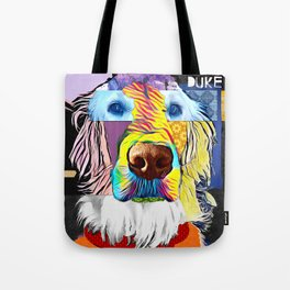English Golden Retriever Tote Bag