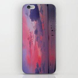 Swimming Towards Sundown iPhone Skin