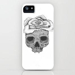 Death Rose iPhone Case