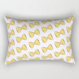 Pasta bow Rectangular Pillow
