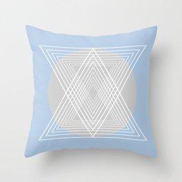 Everything belongs to geometry #7 Throw Pillow