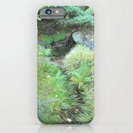 Japanese Tea Garden Hidden Stream iPhone Case