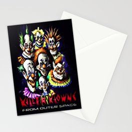 Clowns From Space Stationery Cards