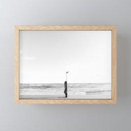 Gold Coasting - Ja  - Surfer Girl Framed Mini Art Print