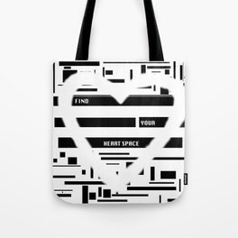 Heart Space Tote Bag