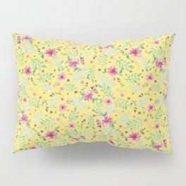 Yellow spring Pillow Sham