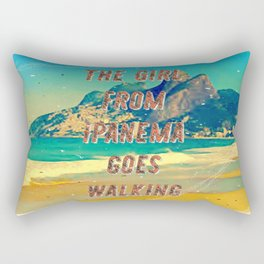 Girl from Ipanema #2 – A Hell Songbook Edition Rectangular Pillow