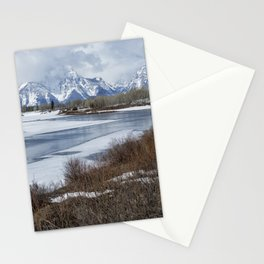 Grand Tetons from Oxbow Bend Stationery Cards