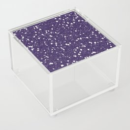 Purple Glitter I Acrylic Box