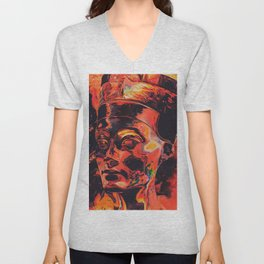 Nefertiti Unisex V-Neck