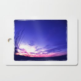 Big Sky Sunset Cutting Board