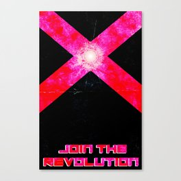 Join the REVOLUTION Canvas Print
