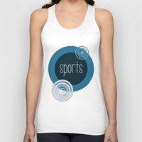 sports Tank Tops featuring SPORTS by VIAINA DESIGN