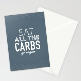 Eat All The Carbs Stationery Cards