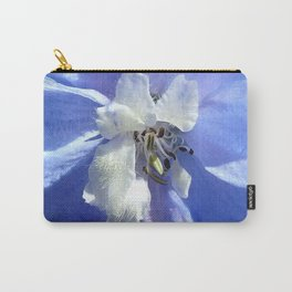 "Larkspur ""Summer Blues"" Carry-All Pouch"